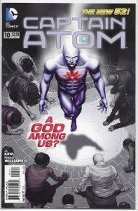 Captain Atom (vol. 3, 2011) # 10 VF/NM (New 52) Krul/Williams II