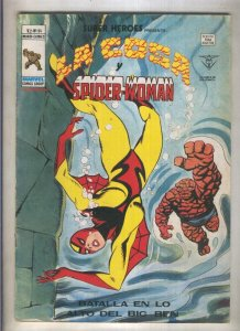 Super Heroes volumen 2 numero 94: La Cosa y Spider Woman