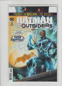 Batman & The Outsiders #3 New Series High Grade NM 9.4