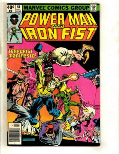 9 Power Man and Iron Fist Marvel Comics # 60 61 64 65 67 69 73 75 51 WS6