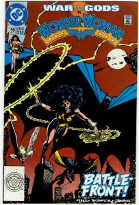 WONDER WOMAN #59 (VF/NM) Batman App! No Resv! 1¢ Auction! See More!!!
