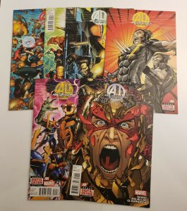 Age Of Ultron #6 7 8 9 10 plus #10 AI NM 1st Prints Marvel Comics 2013 Series
