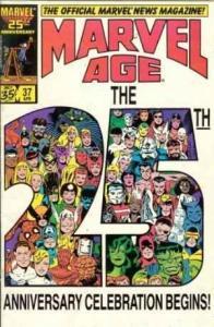 Marvel Age #37, VF+ (Stock photo)