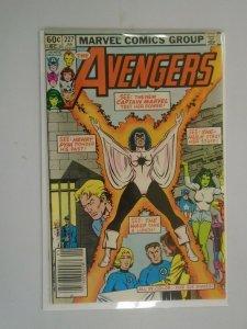 Avengers #227 Newsstand edition 6.0 FN (1983 1st Series)