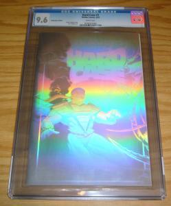 Hardcase #1 CGC 9.6 holographic edition - silver hologram variant  highest grade