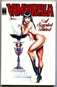Vampirella A Scarlet Thirst 1993 comic Harris-Dave Stevens cover art