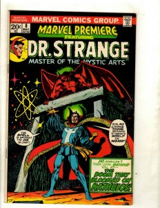 Marvel Premiere # 8 VF Comic Book Feat. Dr. Strange Master Mystic World RS1