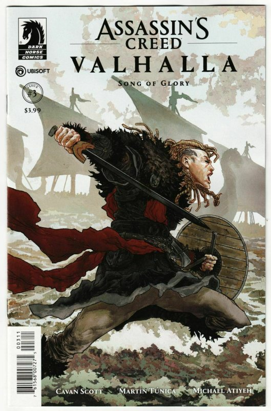 Assassins Creed Valhalla Song Of Glory #3 (Dark Horse, 2020) NM