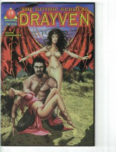the Gothic Scrolls: Drayven #1 FN special edition variant - vampires Davdez 1997
