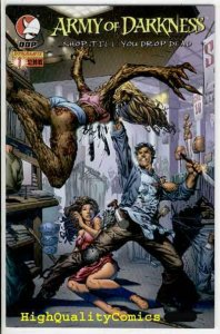 ARMY OF DARKNESS #1 2 3 4, NM-,Shop till you Drop, Bruce Campbell, more in store