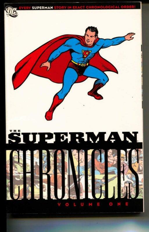 Superman Chronicles Volume 1 TPB trade