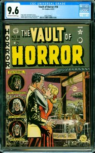 Vault of Horror #18 CGC Graded 9.6