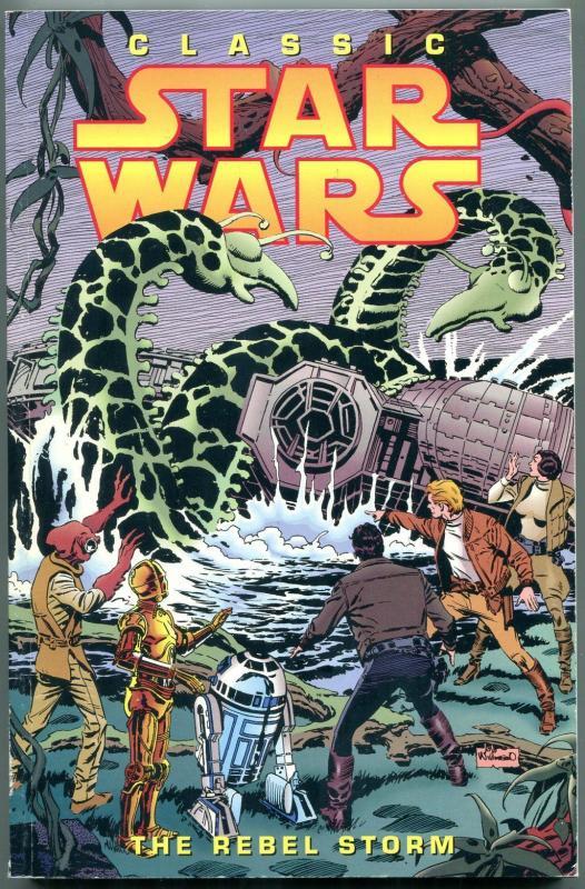 Classic Star Wars: The Rebel Storm trade paperback-1st EDITION-AL WILLIAMSON FN
