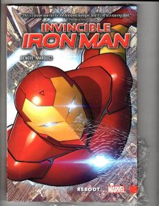 Invincible Iron Man Vol. # 1 Marvel Comics SEALED HARDCOVER Graphic Novel J300