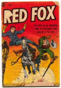 Red Fox Comics #15 1954- Undercover Girl- LB Cole G-