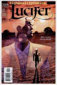 LUCIFER #5, NM-, Devil, Vertigo, Demons, Peter Gross, 2000, Mike Carey