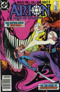 Arion, Lord of Atlantis #35 VF/NM; DC | save on shipping - details inside