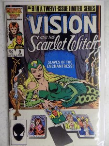 The Vision and the Scarlet Witch #9 (1986)