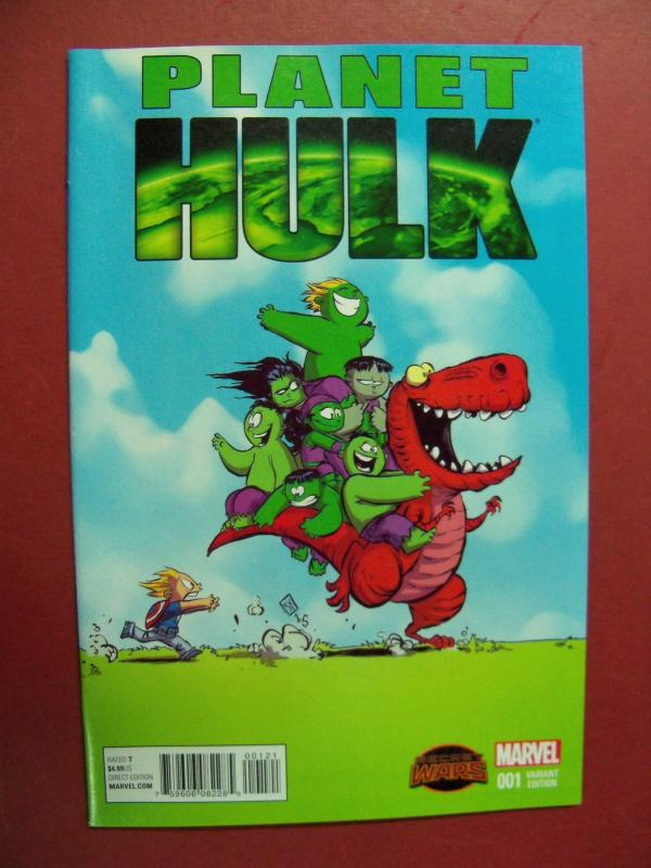 PLANET HULK,  SECRET WARS, #1,  SKOTTIE YOUNG VARIANT COVER
