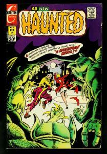 Haunted #11 1973- Charlton Horror Comics-Ditko-Staton VG/F