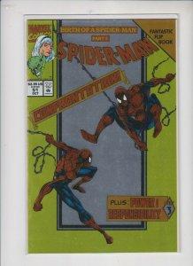 SPIDER-MAN #51 1994 MARVEL /  A FANTASTIC FOIL FLIP BOOK / NM