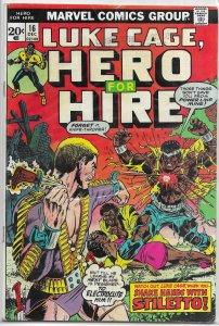 Hero for Hire   vol. 1   #16 GD/VG Luke Cage, Isabella/Graham, Stiletto