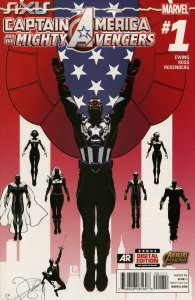 Captain America And The Mighty Avengers #1 VF; Marvel | we combine shipping