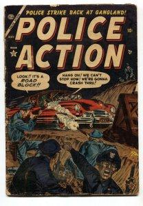 Police Action #3 1953- Violent pre-code crime- Atlas Crime- G