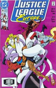 Justice League Europe #18, VF+ (Stock photo)