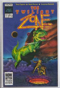 THE TWILIGHT ZONE VOL.#2, ISSUE #3 - NOW COMICS - BAGGED,& BOARDED
