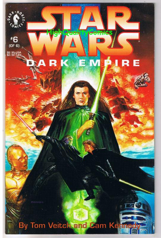STAR WARS Dark Empire #6, NM, Tom Veitch, Dave Dorman, 1991, more SW in store