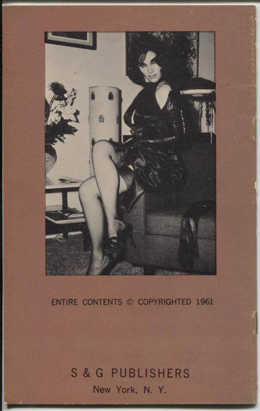 Garter Parade #23 1961-S & G-Stocking & garter cheesecake pix-FN