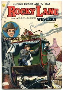 Rocky Lane Western #65 1955-Charlton comics FN
