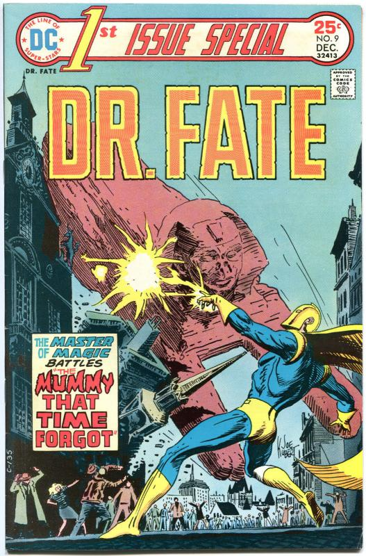 1st ISSUE SPECIAL #9 + #11-12, FN+ to FN, Dr Fate, Kubert, Grell, 1st Starman