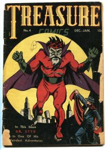 TREASURE #4-1946-Obscure Golden-Age-DR STYX