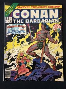 Marvel Treasury Edition Conan The Barbarian #23 1979-FN