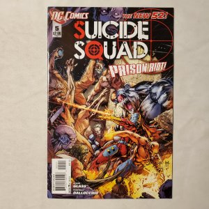 Suicide Squad 5 Very Fine Cover by Ken Lashley