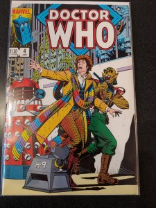 DOCTOR WHO #4 VF/NM