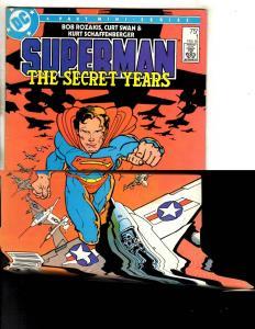 6 Superman Secret Years # 1 2 3 4 (2) + Death Of Superman TPB Graphic Novel JG5