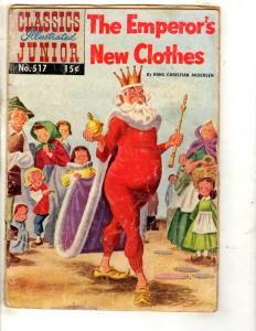 9 Classics Illustrated Junior Comics # 517 555 518 543 519 520 525 526 527 JL25
