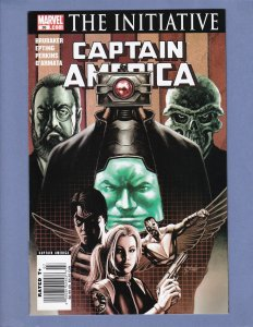 Captain America #26 NM Newsstand Edition HTF Marvel 2007