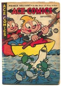 Ace Comics #126 1947- PHANTOM- Prince Valiant restored