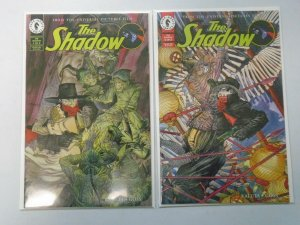The Shadow set #1+2 Movie adaptation 8.0 VF (1994 Dark Horse)