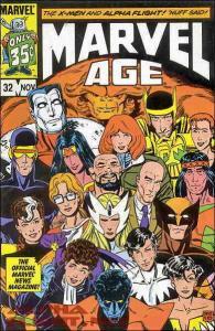 Marvel Age #32 FN; Marvel | save on shipping - details inside
