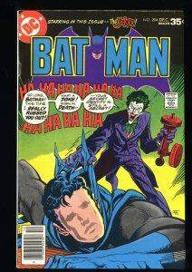 Batman #294 VF/NM 9.0 Joker Cover!