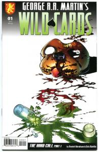 WILD CARDS #1 2 3 4, NM, George R R Martin, Dabel Brothers, 2008, more in store