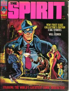 The SPIRIT #1 2, VG/FN, Warren Magazine, Will Eisner, 1974, 2 mags,more in store