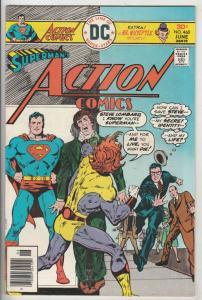 Action Comics #460 (Jun-76) VF+ High-Grade Superman