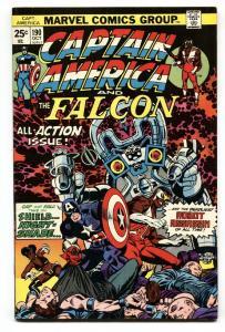 Captain America #190 1975- Falcon- Marvel Bronze Age- VF+