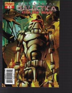 Battlestar Galactica Cylon War #3 (Dynamite, 2010)